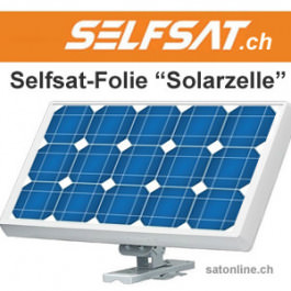 Selfsat Folie Solarzelle
