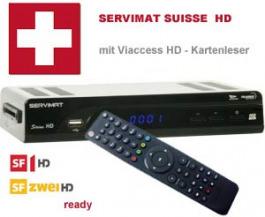Sat Receiver Servimat HD Viaccess