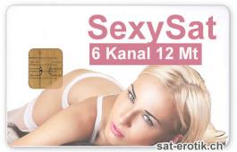 Sat Pay-TV SCT Sexysat 6ch 12mt.