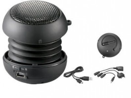 Soundball black mit Akku