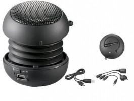 Soundball nero con batteria