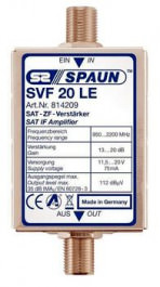 Sat Verstärker ZF Spaun SVF 20 LE