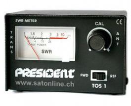 CB Funk SWR Meter President