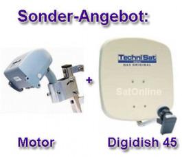 Sat Antenne Technisat Rotor-Tenne Set