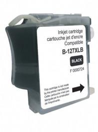 Tinte schwarz Brother LC 127 XL black