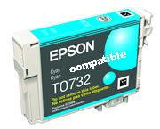 Tinte Col Epson Stylus C79, CX3900 Cyan