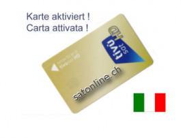 Sat Pay-TV Tivusat Smartcard aktiviert
