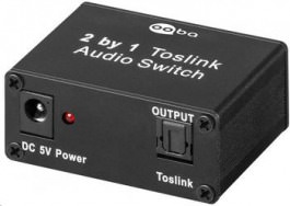 SPDIF Toslink Audio Switch