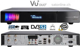 Sat Receiver VU+ Duo2 1x DVB-C/T2 Dual
