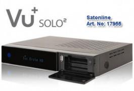 Sat Receiver VU+ SOLO 2 Linux HDTV black