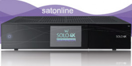 Sat Receiver VU+ SOLO 4K