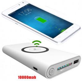 Induktion Powerbank 10000 mAh Wireless