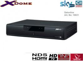 Sat Pay-TV Sky Italia HD Receiver Xdome