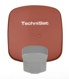 Sat Ant Technisat QuattroSat 2TN rot