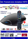 Sat Pay-TV Fransat+ HDTV +Aston Receiver