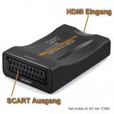 HDMI auf SCART Converter downscaler