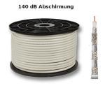 Rouleau de câble coaxial sat 100 mètres SK6 140dB