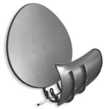 Antenne satellite Wave Frontier Toroidal 90 gris