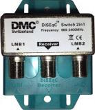 Sat DiSEqC 2/1 DMC 2LNB->1Receiver Dis. 2.0