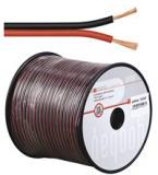Audio Lautsprecher-Kabel 0.75 rot/schwar