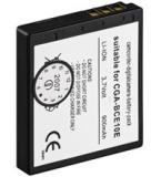 Akku zu Panasonic CGA-BCE10e 3,5V 900mah