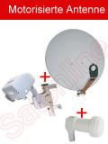 Set: Motor + 40cm Antenne + LNB 0,1db