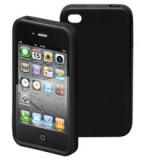 IPhone 4 Silikon-Schutzcase schwarz