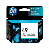 Tinte color HP original 51649AE Nr. 49