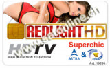 Sat Pay-TV  Redlight Superchic 10CH 12Mt