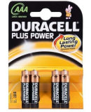 Batterie Micro Duracell LR 03 AAA, 4 pezzi