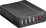 Chargeur pour 6 appareils USB QC2.0 + USB C