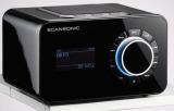 DAB+ Radio SCANSONIC R4S schwarz