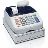 Kasse Olivetti ECR 6800 Registrierkasse