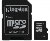 Kingston microSDHC Flash Card 32 GB