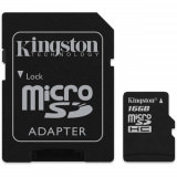 Kingston microSDHC Flash Card 16 GB