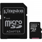 Kingston microSDHC Flash Card 128 GB
