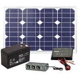 Solar  Set DMC mit Akku 20Watt