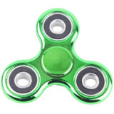 Fidget Hand Spinner Chrome-Green