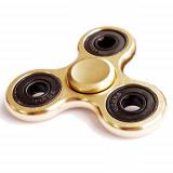 Fidget Hand Spinner Chrome-Gold