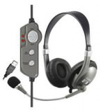 Audio Headset Wintec WH45 USB Anschluss