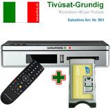 Sat Receiver Grundig HD ITALIA Tivusat