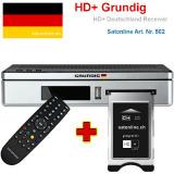 Récépteur Grundig HD+ Allemagne