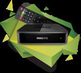 IPTV MAG 410 UHD VOD OTT Streambox