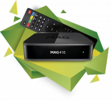 *IPTV MAG 410 UHD VOD OTT WiFi Streambo