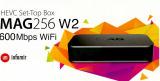 IPTV MAG 256w2 WiFi VOD OTT Streambox