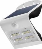 LED Solar Wandleuchte 3.2 W Weiss