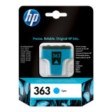 Tinte color HP original C8771EE 363  CYAN