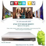 ETUS Türkiye IPTV Box mit 2 Jahren ABO