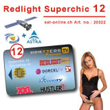 Sat Pay-TV Redlight 12CH Superchic 12Mt