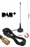 DAB+ antenne magnetique